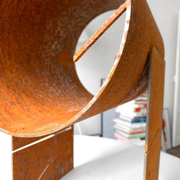 La Bouche – Steel Sculpture – Le Sonneur – 2020